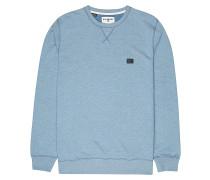 All Day Crew - Sweatshirt - Blau
