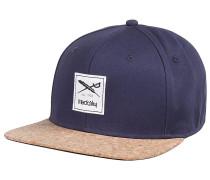 Exclusive Cork Snapback Cap - Blau
