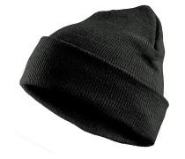 Basic Flap Mütze - Schwarz
