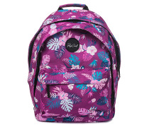 Double Dome Flora - Rucksack - Lila