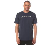 Horizontal Mtn - T-Shirt - Blau