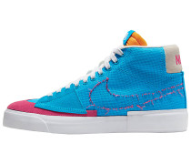 Zoom Blazer Mid Edge Sneaker - Blau