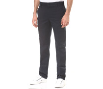 Slim Fit Work - Stoffhose - Blau