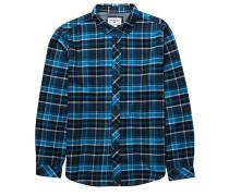 Henderson L/S - Hemd - Blau