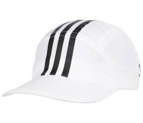 Tech 3 Stripe - Cap - Weiß