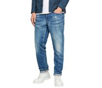 Type C 3D Straight Fleck - Jeans - Blau