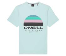 Sunset - T-Shirt - Blau
