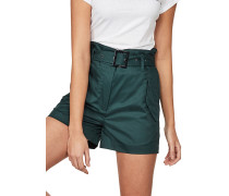 Rovic High Paperbag - Chino Shorts - Grün