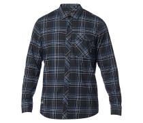 Gamut Stretch Flannel - Hemd - Blau