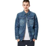3301 Padded Overshirt - Hemd - Blau