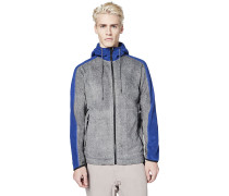 Colourblock - Fleecejacke - Grau
