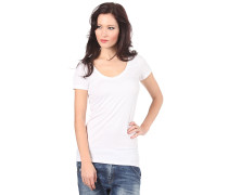 Base Raw Cap Slim Vc - T-Shirt - Weiß