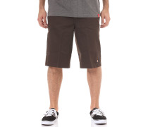 13in Mlt Pkt - Chino Shorts - Braun