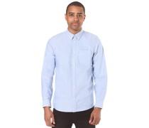 Button Down Pocket - Hemd - Blau