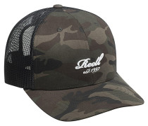 Curved Trucker Cap - Camouflage