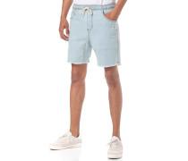 Baller Denim Elastic - Shorts - Blau