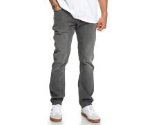 Worker Straight - Jeans - Grau