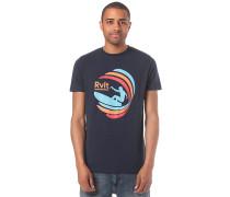 Tee Print - T-Shirt - Blau