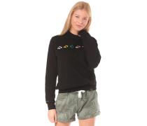 Glyphline Crew - Sweatshirt - Schwarz
