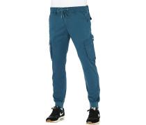 Reflex Rib - Cargohose - Blau