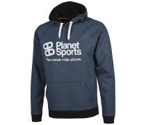 Planet Kapuzenpullover - Blau