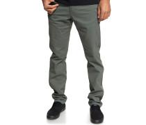 Krandy 5 Pocket - Stoffhose - Grau