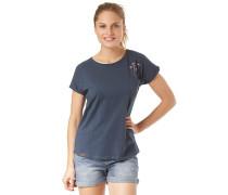 Via - T-Shirt - Blau