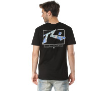 TV Screen Liquify - T-Shirt - Schwarz