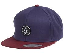 Quarter Twill Snapback Cap - Lila