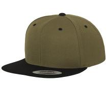 Classic 2-Tone Snapback Cap - Grün