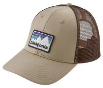 Shop Sticker Patch LoPro Trucker Cap - Beige