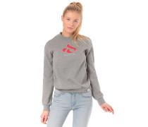 Glyph Girl Crew - Sweatshirt - Grau