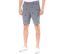 Authentic Monogram - Shorts - Blau