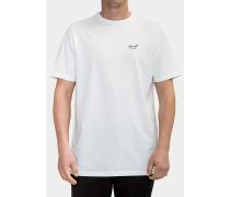 Small Script - T-Shirt - Weiß