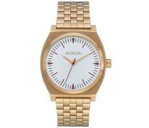 Time Teller - Uhr - Gold