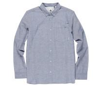 Greene Neps L/S - Hemd - Blau