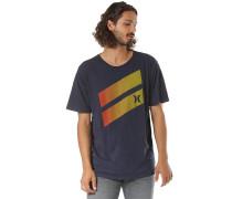 Icon Slash Gradient - T-Shirt - Blau