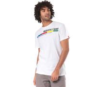 4Stripe - T-Shirt - Weiß