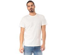 Double Rneck - T-Shirt - Schwarz