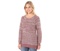 Cruisin On Crew - Strickpullover - Rot