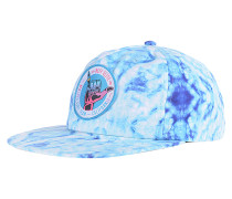 Summer Haze Snapback Cap - Blau