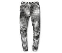 PW x Elwood X25 3D Boyfriend Houndstooth AO - Jeans