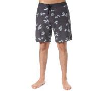 Palm Leaf - Boardshorts - Schwarz