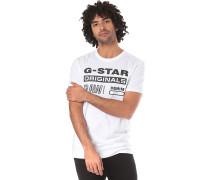Swando Graphic Regular - T-Shirt - Weiß