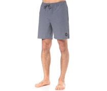 Marled 2 Elastic - Boardshorts - Blau