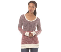 2 Tone Biquet Knit - Strickpullover - Rot
