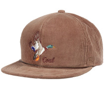 The Wilderness Snapback Cap - Braun