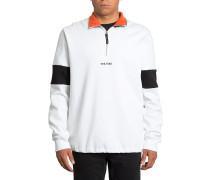 Rixon Fleece Crew - Sweatshirt - Weiß