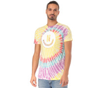 Smiley Wash - T-Shirt - Mehrfarbig