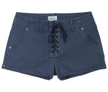 Valley Twill - Shorts - Blau